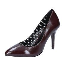 scarpe donna FORNARINA 39 EU decolte bordeaux pelle lucida BX89-39