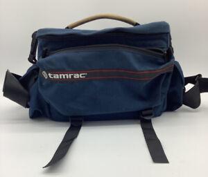 Vintage Tamrac Model 706 Camera Bag Nikon Cannon Fuji Padded Plenty Of Pockets