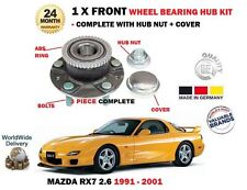 FOR MAZDA RX7 2.6 TWIN TURBO 1991-2001 NEW 1 X FRONT ABS WHEEL BEARING HUB KIT