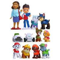 New PAW PATROL PAWED PATROL ACTION FIGURES CAKE TOPPERS  GIFT TOYS  12pcs