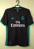 Real Madrid shirt SMALL 17/18 Away Jersey Adidas football soccer BR3543 #92 TC
