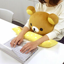 BANDAI Rilakkuma PC Cushion Cute Bear Plush Stuffed Doll F/S Japan tracking New!