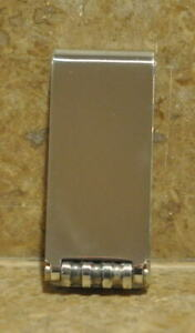 Tiffany & Co. Sterling Silver Money Clip  Paloma Picasso Groove