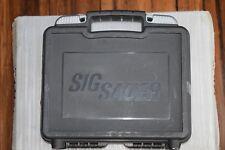 SIG SAUER SIG ARMS FACTORY PISTOL CASE BLACK P220 P226 P229 P239 P227 P228 P320