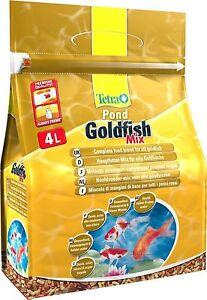 Tetra Pond Goldfish Mix 4L / 560g - Complete Food Blend For Koi & Goldfish