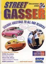 STREET GASSER DECEMBER 2000-NSRA HOT ROD V8 MAG-NATIONAL STREET ROD ASSOCIATION
