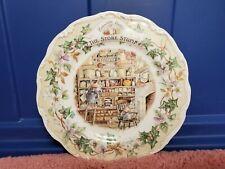 "Royal Doulton Brambly Hedge ""The Store Stump"" 8"" Plate. 1984 Jill Barklem"