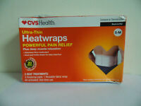 CVS BACK SHAPED HEATING PAD WITH REUSABLE HOT & COLD GEL