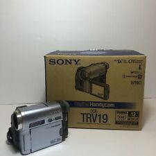 Sony Handycam DCR-TRV19 Mini DV Camcorder + Box And Accessories