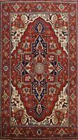 Geometric Heriz Serapi Hand-knotted Oriental Area Rug Classic Large Carpet 10x14