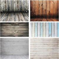 LZ 3x5FT Vinyl Photography Backdrop Wall 17 Type Wood Floor Photo Background HOT