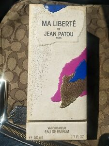 Vintage Ma Liberte De Jean Patou EDP Eau De Parfum Women Perfume VERY RARE 50 ml
