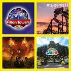 2 ALTON TOWERS TICKETS FOR SCAREFEST ~ TUESDAY 19TH OCTOBER 19/10/2021