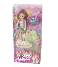 Winx Club Bloom and Bell Doll Love & Pet Toy Clothes Bed Accessories Girl New