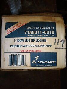 Advance 71A8071 100-Watt S54 High Pressure Sodium Lamp Ballast 100W HPS Kit