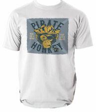 Pirate Shirt T Mens Skull Rum Dress Fancy You Funny Drink Time Flies S-3XL