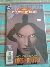 Superman: The Man of Steel #124 in good  condition. DC comics (SEAL NEVER READ)