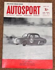 Autosport 9/3/62* THE COLOTTI STORY - RACING MGA - BMC COMPETITIONS DEPT
