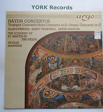 ZK 6 - HAYDN - Concertos MARRINER Academy Of St Martin-i-t-Fields - Ex LP Record