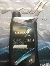 OLIO CAMBIO AUTOMATICO WOLF TRASMISSIONI ATF 6 MB 236.41 DEXRON VI