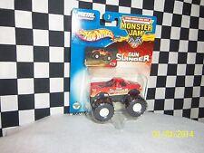 Hot Wheels: Monster Jam, GUNSLINGER, HOT WHEELS FORD  2 trucks, variations 1:64