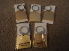 SET OF 5 MICHAEL COLLINS IRISH WHISKEY KEYCHAINS