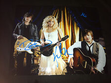 """The Band Perry Signed 8x10 Signed by All 3 members """"If I die young"""""""