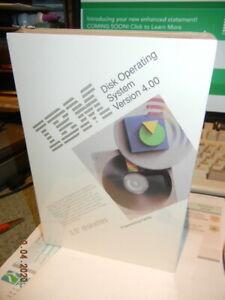 IBM DOS   NOS  SEALED      Version 4.0   SEALED       Hey collectors ??  !!