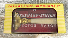 Vintage Schick Eversharp Injector Razor with Case and original box