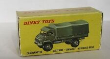 Repro Box Dinky Nr.821 Militär Unimog Mercedes Benz