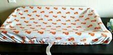 """Contoured Pad Cover for changing Table """"Orange Fox """"New"""