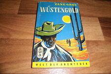 Zane Grey -- WÜSTENGOLD // Western Taschenbuch von AWA Verlag 1955