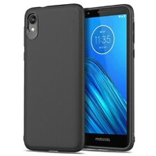 For Motorola Moto E6 Slim Soft TPU Protective Shell Anti-slip Phone Case Cover
