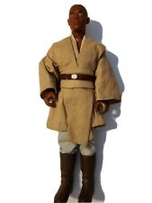 "Mace Windu 12"" Black Series Star Wars Action Figure Good Condition 1999"