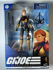 "Hasbro Gi Joe Classified 6"" Scarlett Original Deco Action Figure"