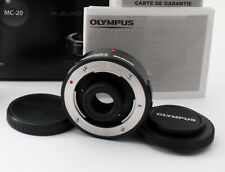 Olympus MC-20 M.Zuiko Digital 2x Teleconverter Lens w/ Box [N Mint] JAPAN 668408