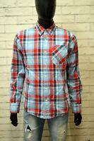 Camicia Uomo TOMMY HILFIGER Size M Maglia Polo Shirt Hemd Cotone Chemise Quadri