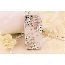 Bling Case Girly Cute Crystal Luxury Silicone Cover For iPhone / Samsung Galaxy