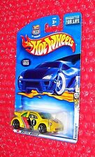 ERROR 2002 Hot Wheels Volkswagen New Beetle Cup  on Ballistik card  ERROR