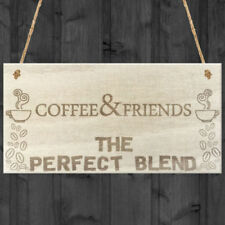 Rectangle Coffee Decorative Hanging Signs