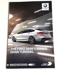 BMW . 6 Series . BMW 6 Series . Gran Turismo . October 2017 Sales Brochure