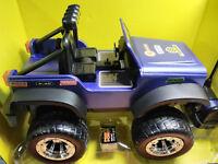Sharper Image RC Car All Terrain Off Road Safari Vehicle Blue Radio Control