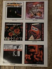 More details for the birthday party (nick cave) promo postcard 4ad for six lp re-releases 1999