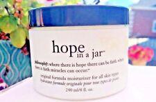 Philosophy HOPE IN A JAR Original Moisturizer Anti-Aging Lotion Cream HUGE 8 oz!