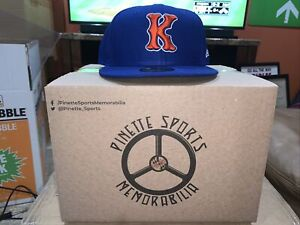 Kingsport Mets Fitted On Field New Era 5950 BP Cap Hat Size 8 New York NWT