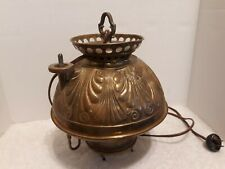 HB & H Gladstone Hang Oil Lamp Converted to Electric No Globe