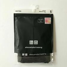 Uniqlo x Alexander Wang Men's HEATTECH Ribbed Boxer Brief Black Small NWT
