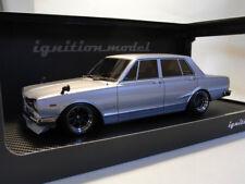1/18 IG ignition #IG0749 Nissan Skyline 2000 GT-R (PGC10) Silver GS