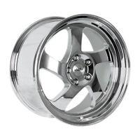 18x8.5 +35 Whistler KR1 5x120 Chrome Wheel Fits Bmw E36 E46 M3 323 318 325 328