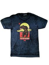 Levi's Strauss and Company Grizzly Bear Surfing T Shirt Size Small